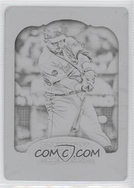 2012 Topps Gypsy Queen Printing Plate Black #3 - Billy Butler /1