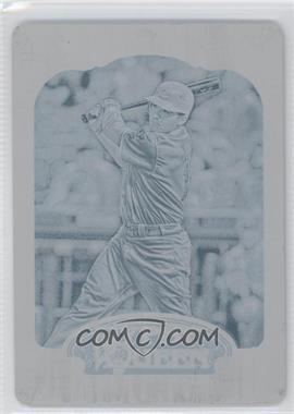 2012 Topps Gypsy Queen Printing Plate Cyan #220 - Joey Votto /1