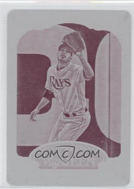 2012 Topps Gypsy Queen Printing Plate Magenta #11 - Matthew Joyce /1