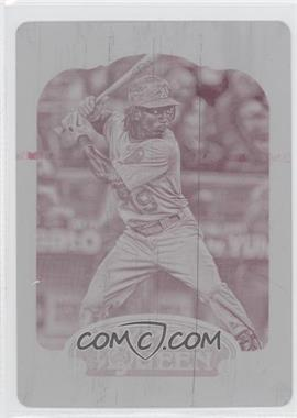 2012 Topps Gypsy Queen Printing Plate Magenta #204 - Jemile Weeks /1
