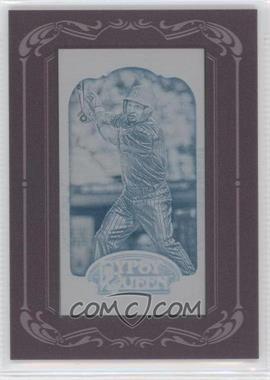 2012 Topps Gypsy Queen Printing Plate Minis Cyan Framed #159 - Shane Victorino /1