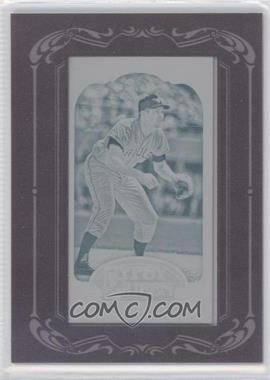 2012 Topps Gypsy Queen Printing Plate Minis Cyan Framed #254 - Brian Roberts /1