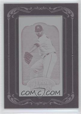 2012 Topps Gypsy Queen Printing Plate Minis Magenta Framed #276 - Ricky Nolasco /1