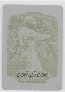 2012 Topps Gypsy Queen Printing Plate Yellow #264 - Ernie Banks /1