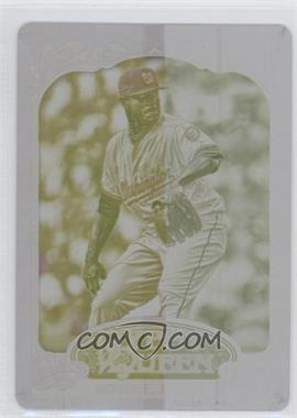 2012 Topps Gypsy Queen Printing Plate Yellow #56 - Edwin Jackson /1