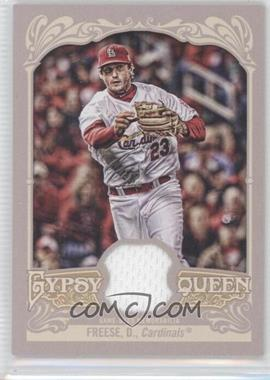 2012 Topps Gypsy Queen Relics #GQR-DF - David Freese