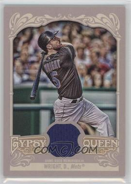 2012 Topps Gypsy Queen Relics #GQR-DW - David Wright