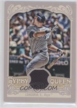 2012 Topps Gypsy Queen Relics #GQR-EL - Evan Longoria