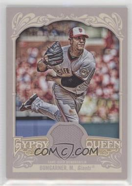 2012 Topps Gypsy Queen Relics #GQR-MB - Madison Bumgarner
