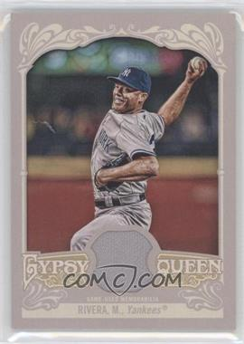 2012 Topps Gypsy Queen Relics #GQR-MR - Mariano Rivera