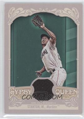 2012 Topps Gypsy Queen Relics #GQR-MS - Giancarlo Stanton