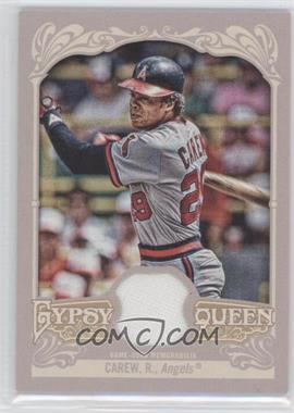 2012 Topps Gypsy Queen Relics #GQR-RC - Rod Carew