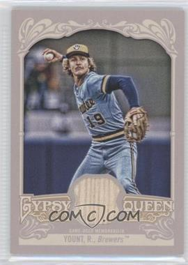 2012 Topps Gypsy Queen Relics #GQR-RY - Robin Yount