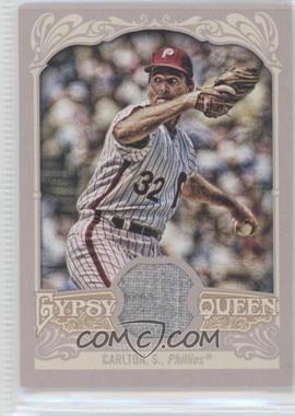 2012 Topps Gypsy Queen Relics #GQR-SC - Steve Carlton