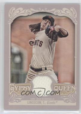 2012 Topps Gypsy Queen Relics #GQR-TL - Tim Lincecum