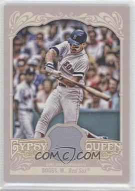 2012 Topps Gypsy Queen Relics #GQR-WB - Wade Boggs