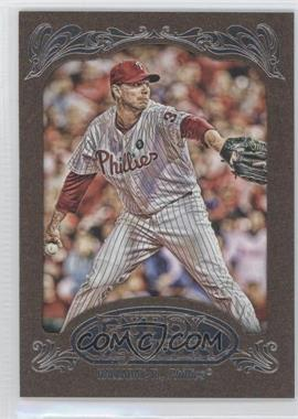 2012 Topps Gypsy Queen Retail [Base] Gold Paper Frame #10 - Roy Halladay