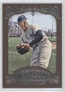 2012 Topps Gypsy Queen Retail [Base] Gold Paper Frame #120 - Mickey Mantle