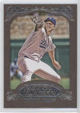 2012 Topps Gypsy Queen Retail [Base] Gold Paper Frame #135 - Clayton Kershaw
