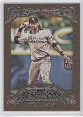 2012 Topps Gypsy Queen Retail [Base] Gold Paper Frame #137 - Jose Reyes