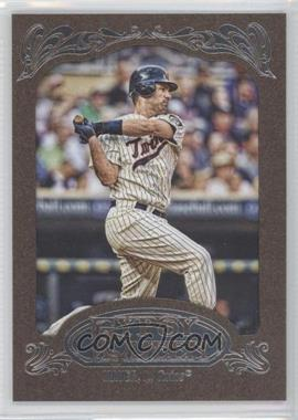 2012 Topps Gypsy Queen Retail [Base] Gold Paper Frame #140 - Joe Mauer