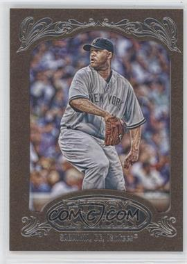 2012 Topps Gypsy Queen Retail [Base] Gold Paper Frame #150 - C.C. Sabathia