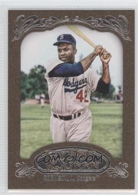 2012 Topps Gypsy Queen Retail [Base] Gold Paper Frame #18 - Jackie Robinson