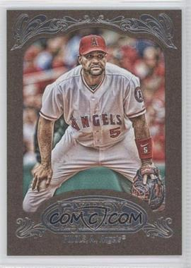 2012 Topps Gypsy Queen Retail [Base] Gold Paper Frame #180 - Albert Pujols