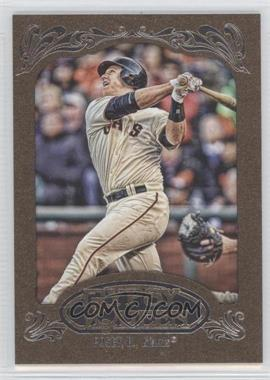 2012 Topps Gypsy Queen Retail [Base] Gold Paper Frame #182 - Buster Posey