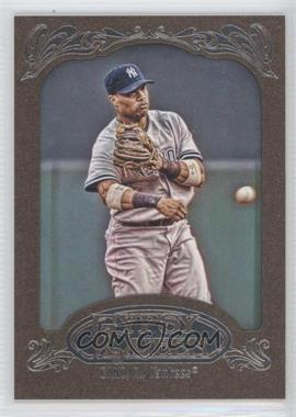 2012 Topps Gypsy Queen Retail [Base] Gold Paper Frame #190 - Robinson Cano