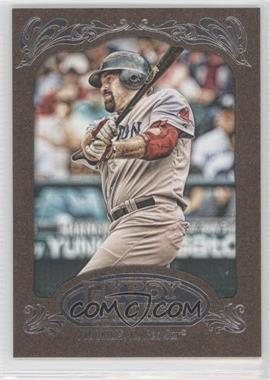 2012 Topps Gypsy Queen Retail [Base] Gold Paper Frame #22 - Kevin Youkilis
