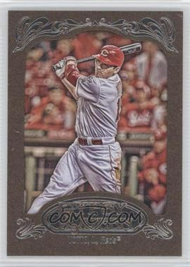2012 Topps Gypsy Queen Retail [Base] Gold Paper Frame #220 - Joey Votto