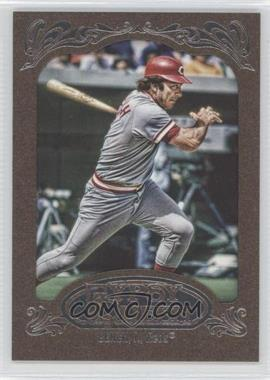 2012 Topps Gypsy Queen Retail [Base] Gold Paper Frame #226 - Johnny Bench