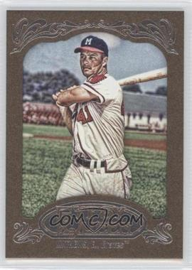 2012 Topps Gypsy Queen Retail [Base] Gold Paper Frame #228 - Eddie Mathews