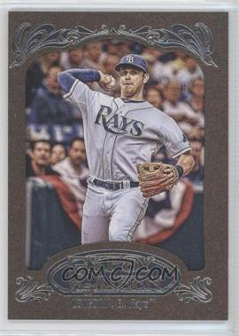 2012 Topps Gypsy Queen Retail [Base] Gold Paper Frame #230 - Evan Longoria