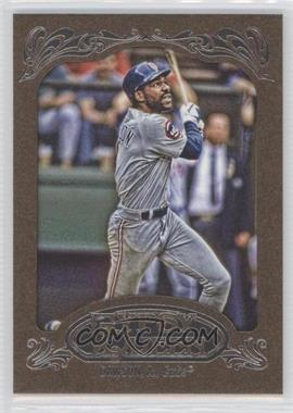 2012 Topps Gypsy Queen Retail [Base] Gold Paper Frame #231 - Andre Dawson