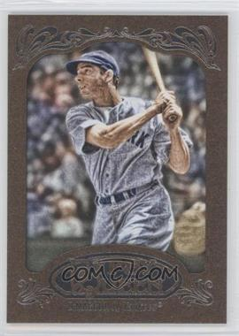 2012 Topps Gypsy Queen Retail [Base] Gold Paper Frame #232 - Joe DiMaggio
