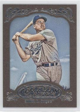 2012 Topps Gypsy Queen Retail [Base] Gold Paper Frame #233 - Duke Snider