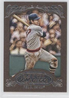 2012 Topps Gypsy Queen Retail [Base] Gold Paper Frame #234 - Carlton Fisk
