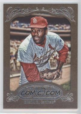 2012 Topps Gypsy Queen Retail [Base] Gold Paper Frame #237 - Bob Gibson