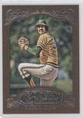 2012 Topps Gypsy Queen Retail [Base] Gold Paper Frame #238 - Rollie Fingers