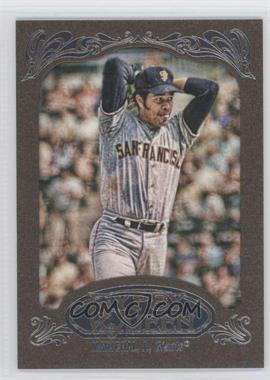2012 Topps Gypsy Queen Retail [Base] Gold Paper Frame #239 - Juan Marichal