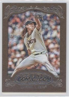 2012 Topps Gypsy Queen Retail [Base] Gold Paper Frame #240 - Tim Lincecum