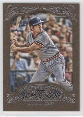 2012 Topps Gypsy Queen Retail [Base] Gold Paper Frame #242 - Al Kaline