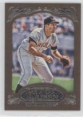 2012 Topps Gypsy Queen Retail [Base] Gold Paper Frame #254 - Brian Roberts