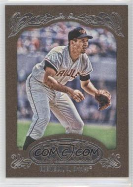 2012 Topps Gypsy Queen Retail [Base] Gold Paper Frame #254 - Brooks Robinson