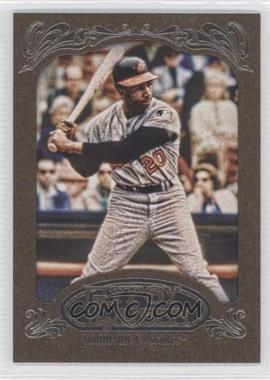 2012 Topps Gypsy Queen Retail [Base] Gold Paper Frame #255 - Frank Robinson