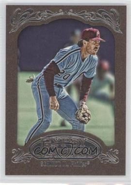 2012 Topps Gypsy Queen Retail [Base] Gold Paper Frame #258 - Mike Schmidt