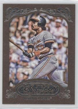 2012 Topps Gypsy Queen Retail [Base] Gold Paper Frame #263 - Eddie Murray
