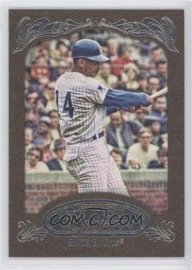 2012 Topps Gypsy Queen Retail [Base] Gold Paper Frame #264 - Ernie Banks